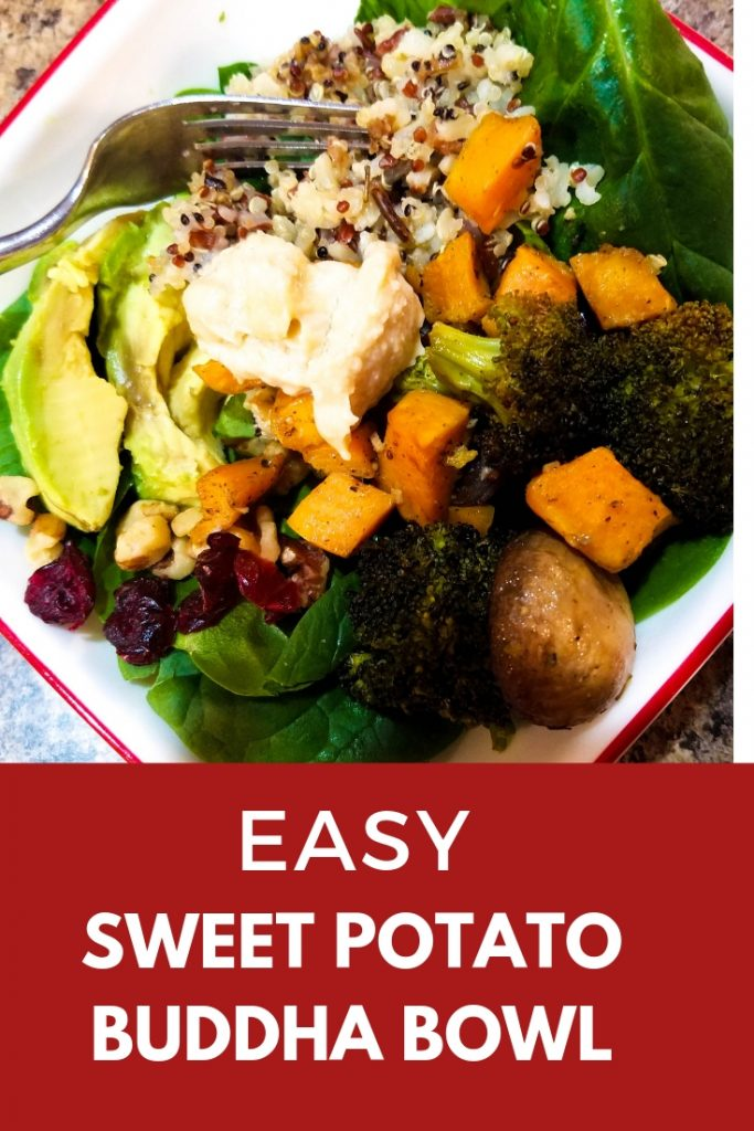 Broccoli Sweet Potato Buddha Bowl
