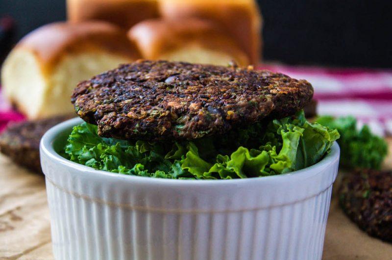 Veggie Bean Burger Bowl