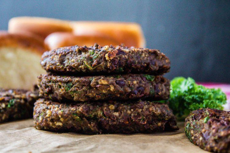 healthy veggie bean burger-6 copy