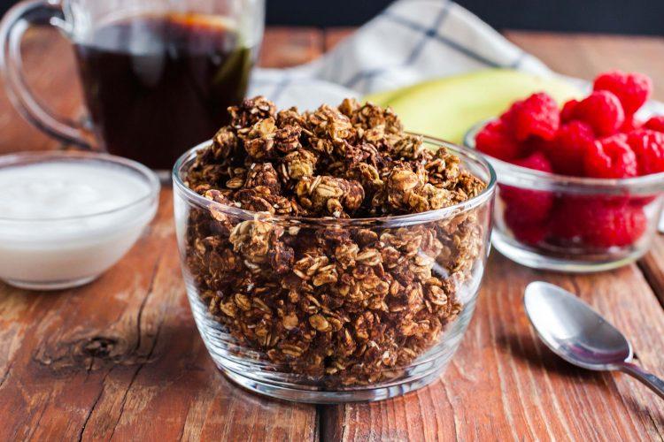 homemade protein granola-9