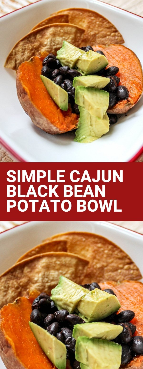 Simple Cajun Black Bean Potato Bowl (1)