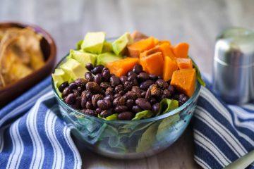 sweet potato black bean bowl