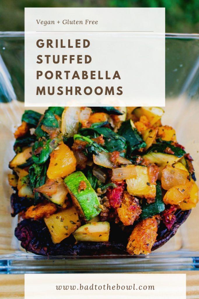 Grilled Stuffed Portabella Mushrooms