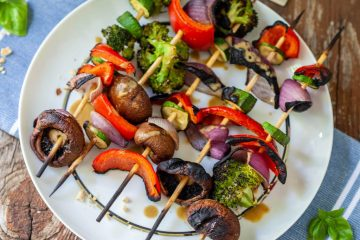 vegan thai kabobs with basil peanut glaze-4