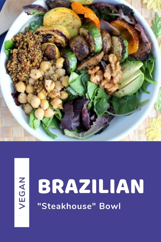 Vegan Brazilian 'Steakhouse' Bowl