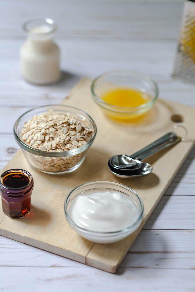 dairy free orange creamsicle oats