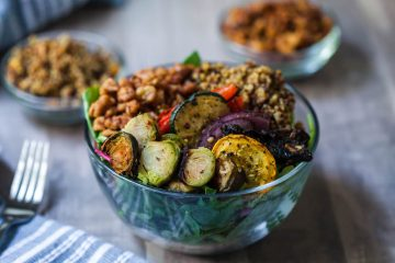 vegan brazilian steakhouse power bowl-