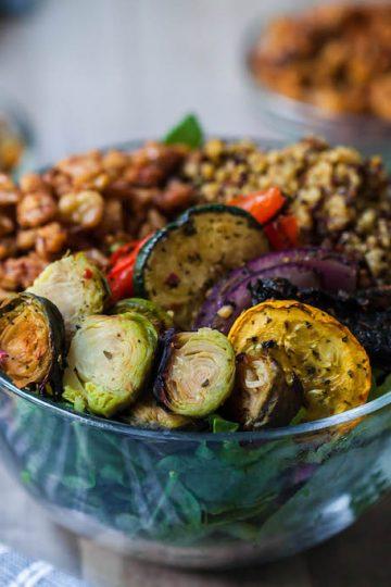 vegan brazilian steakhouse power bowl-