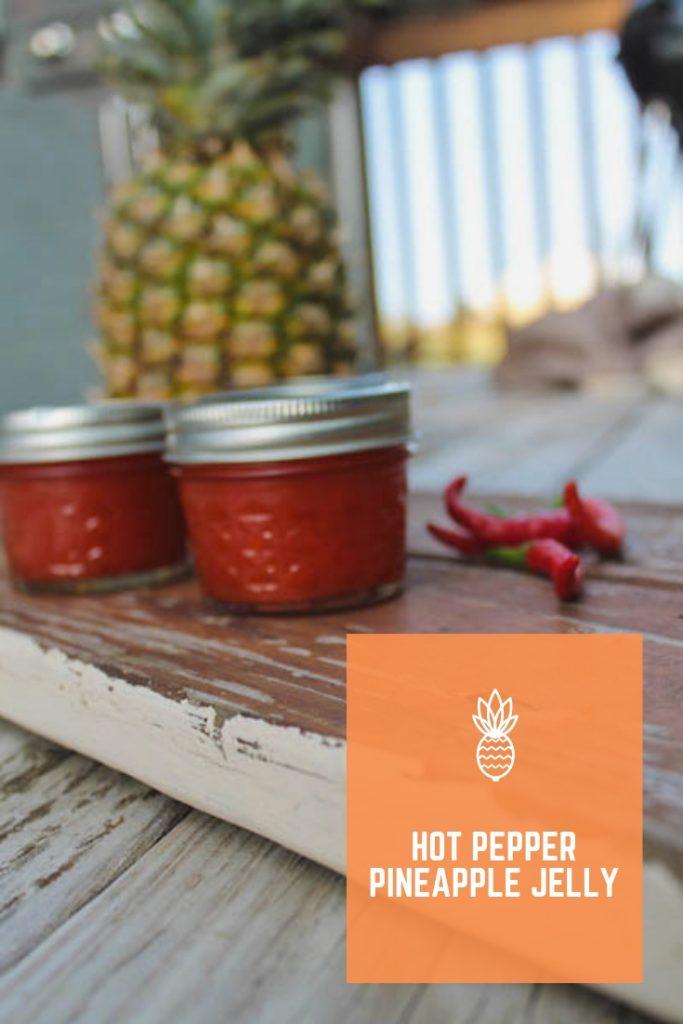 Hot Pepper Pineapple Jelly