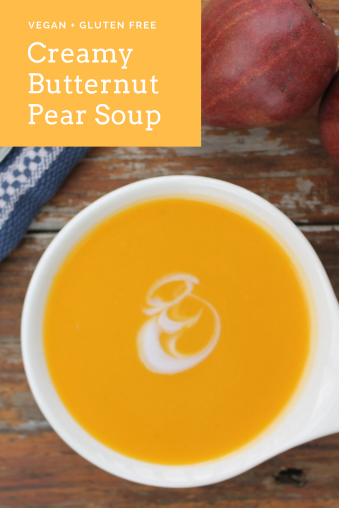 Creamy Butternut Pear Soup