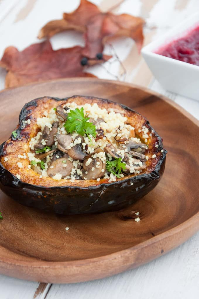 stuffed acorn squash with couscous
