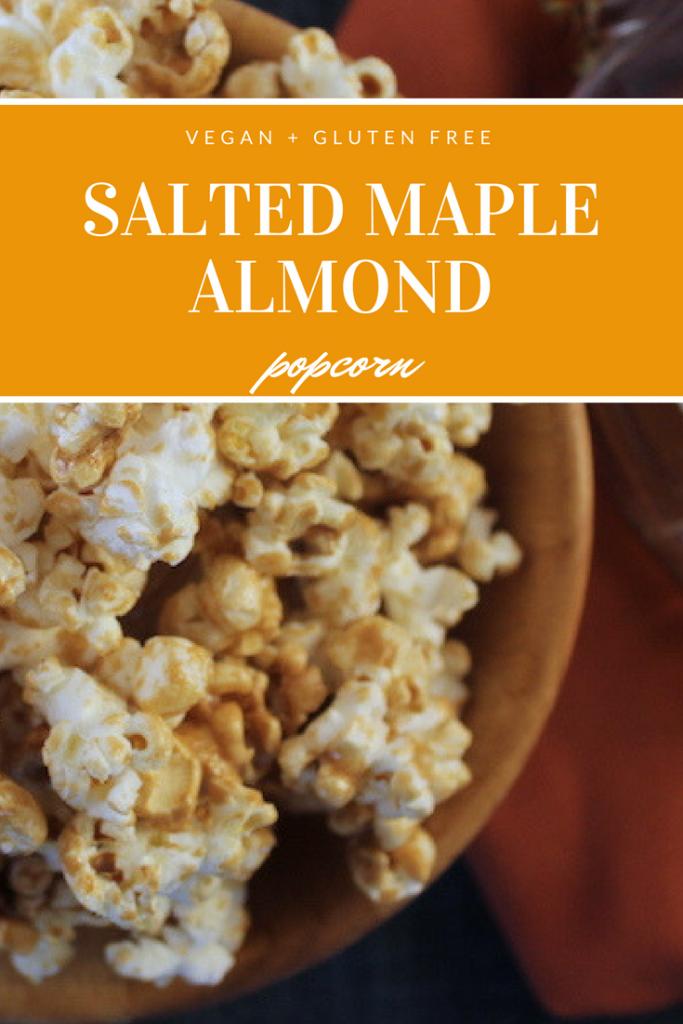 Salted Maple Almond Popcorn