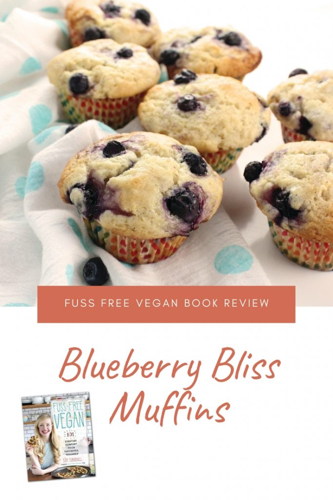 'Fuss Free Vegan' Book Review + Blueberry Bliss Muffins