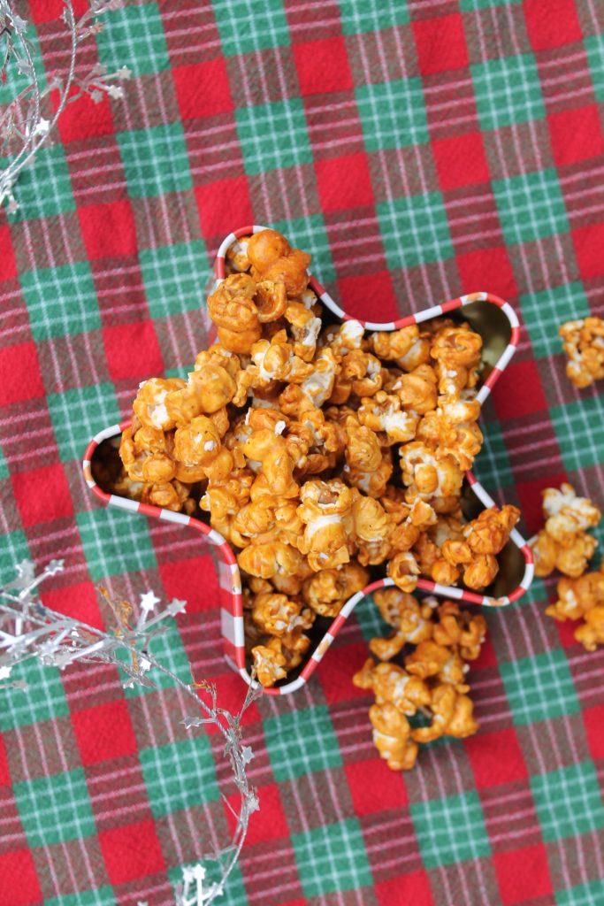 candied eggnog popcorn IG