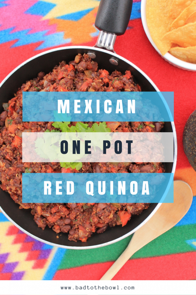 Mexican One Pot Red Quinoa