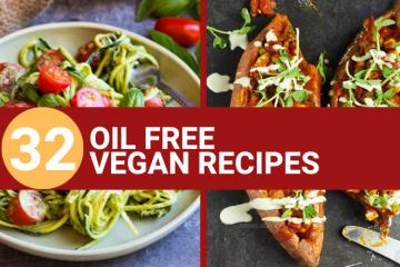 oil free vegan