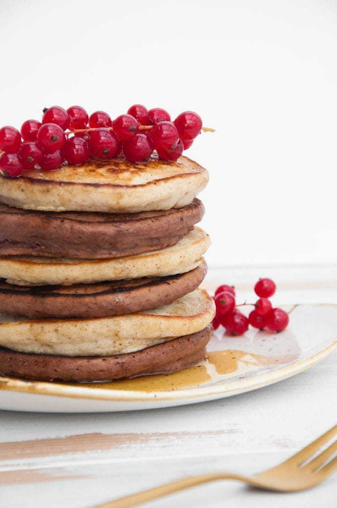 Cocoa and Vanilla Pancakes