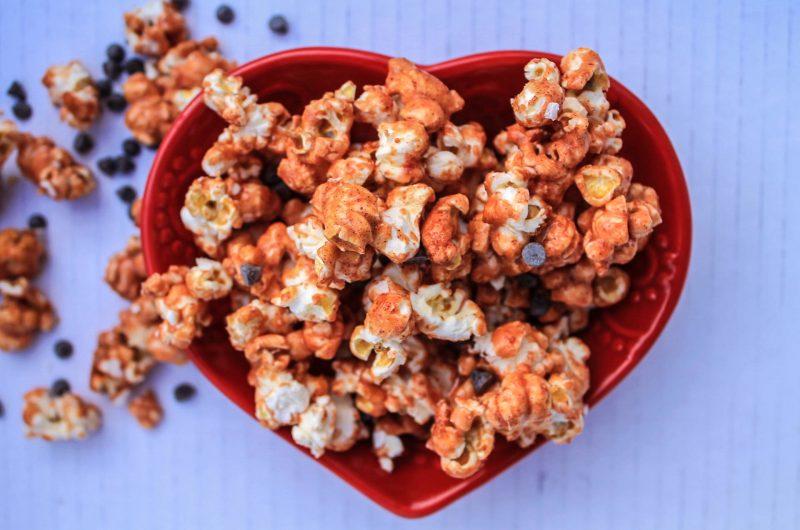 Cherry Chip Popcorn (Vegan + Gluten Free)