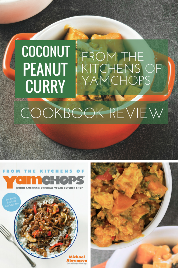 Coconut Peanut Curry + YamChops Book Review