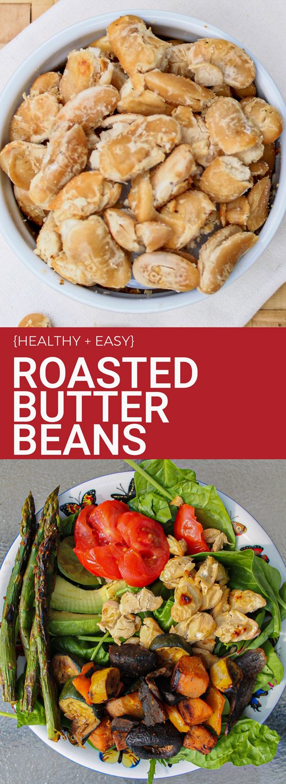Healthy Roasted Butter Beans