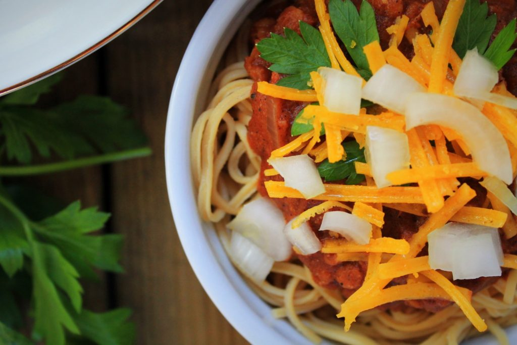 Instant Pot Vegan Cincinnati Chili