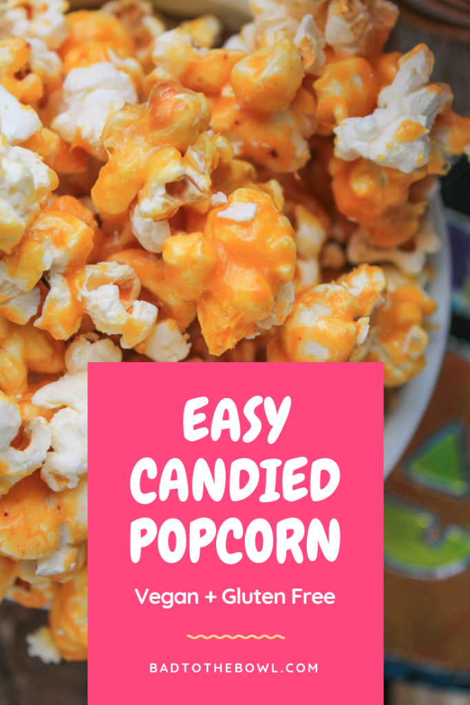 Easy Candied Popcorn