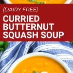 dairy free curry butternut squash soup