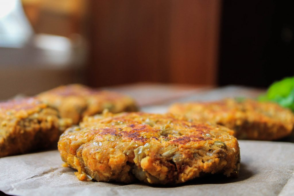 Sweet Potato Lentil Fritters