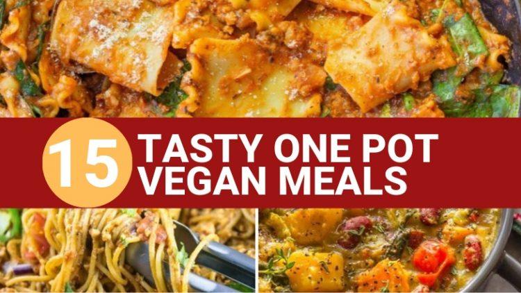 15 one pot vegan meals