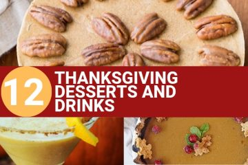 Vegan Thanksgiving Desserts and Drinks (1)