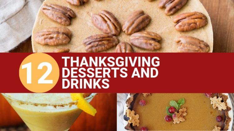 Vegan Thanksgiving Desserts and Drinks (1)