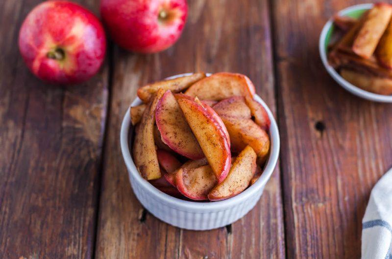 Maple Cinnamon Stewed Apples