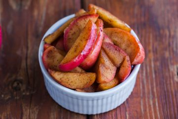 apple cinnamon stewed apples