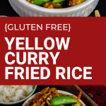 gluten free yellow curry fried rice