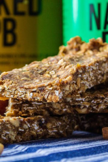 No Bake Apple Peanut Butter Protein Bars-2 copy
