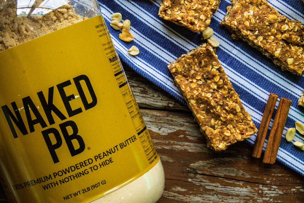 No Bake Apple Peanut Butter Protein Bars-4 copy
