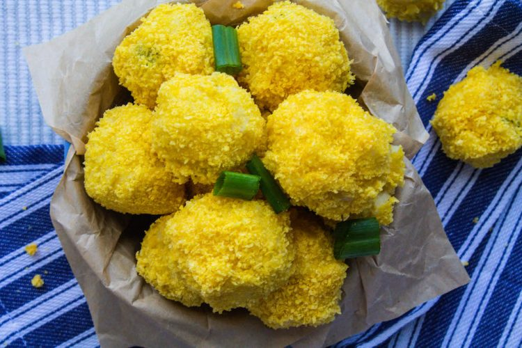 vegan mashed potato balls