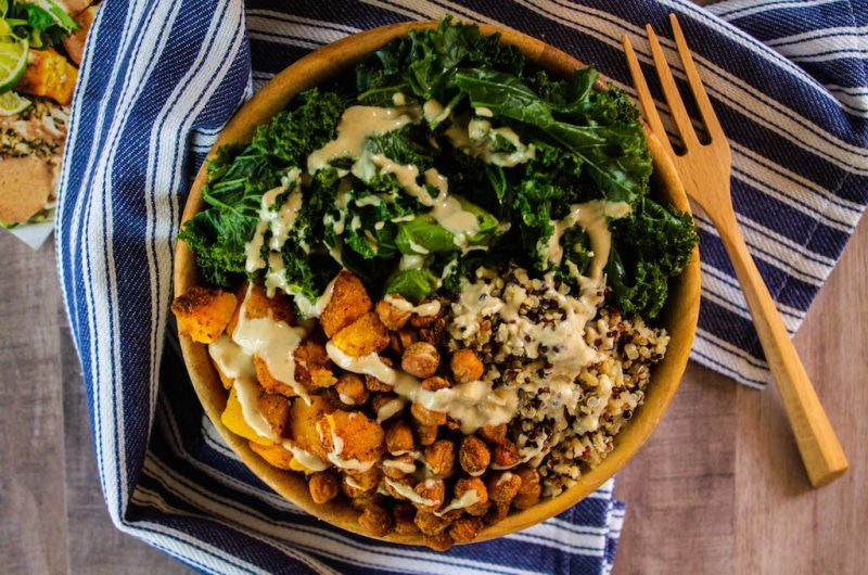 The Classic Buddha Bowl + Vegan Buddha Bowls Cookbook