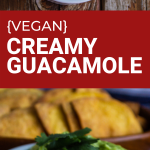 creamy vegan guacamole
