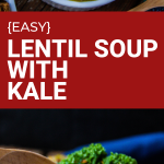 easy lentil soup with kale