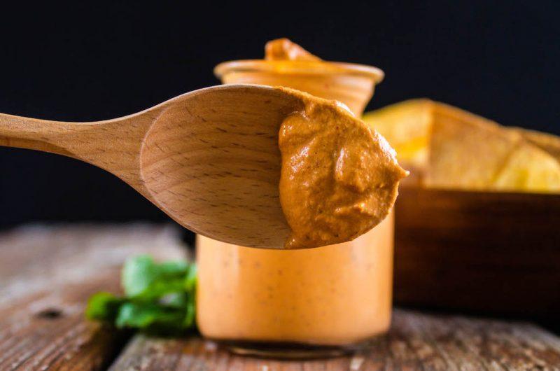 Creamy Cashew Chipotle Sauce