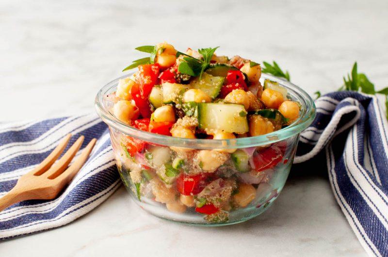 Vegan Amaranth Tabbouleh Salad
