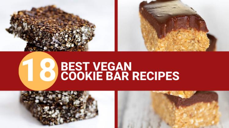 vegan cookie bars