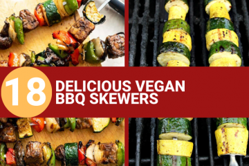delicious vegan bbq skewers