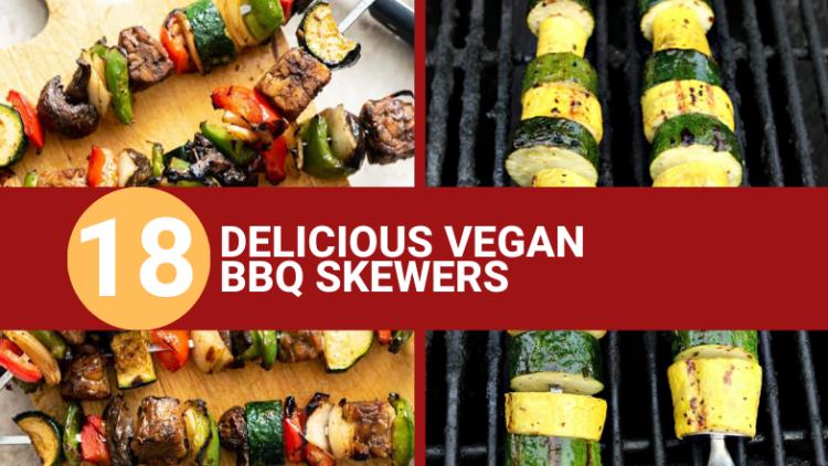 delicious vegan bbq skewers
