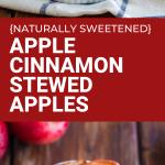 apple cinnamon stewed apples