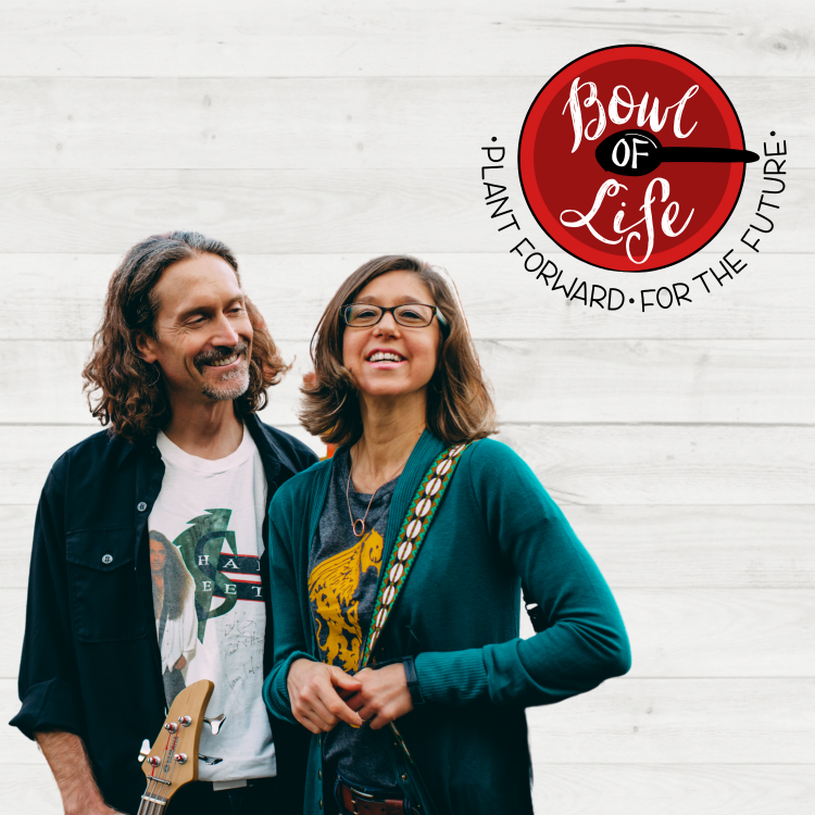 bowl of life podcast cover with joe and sarah hayes