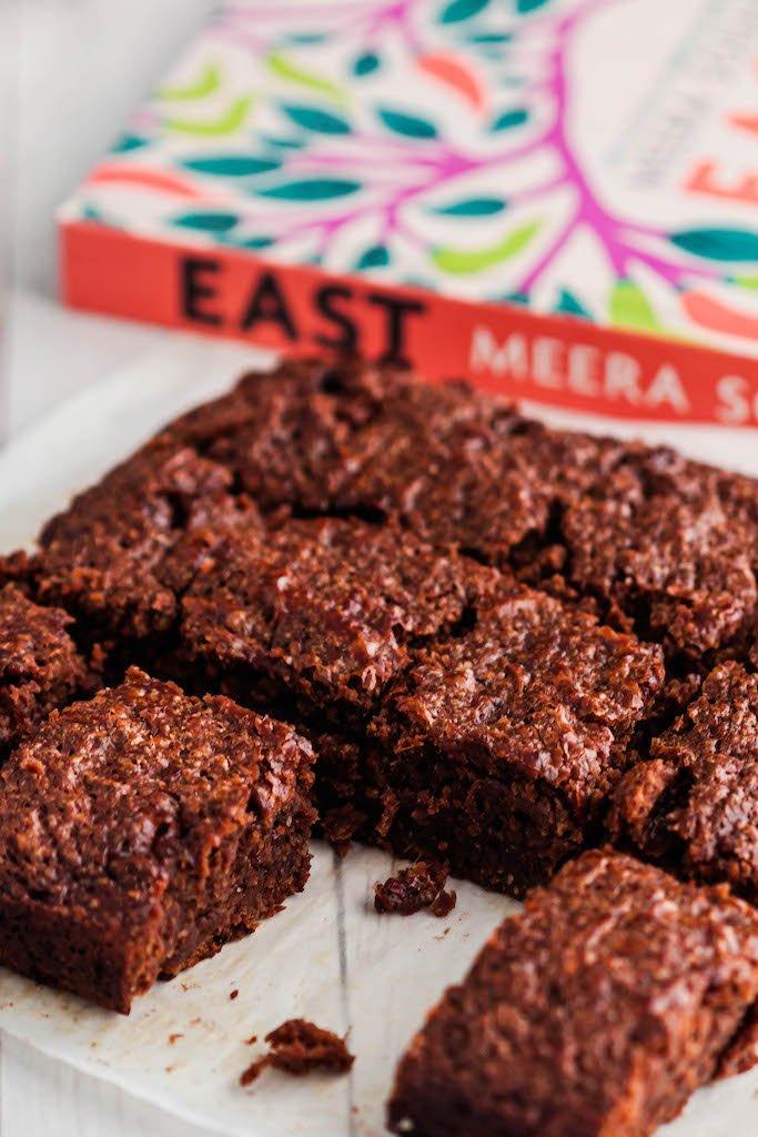 salted miso brownies