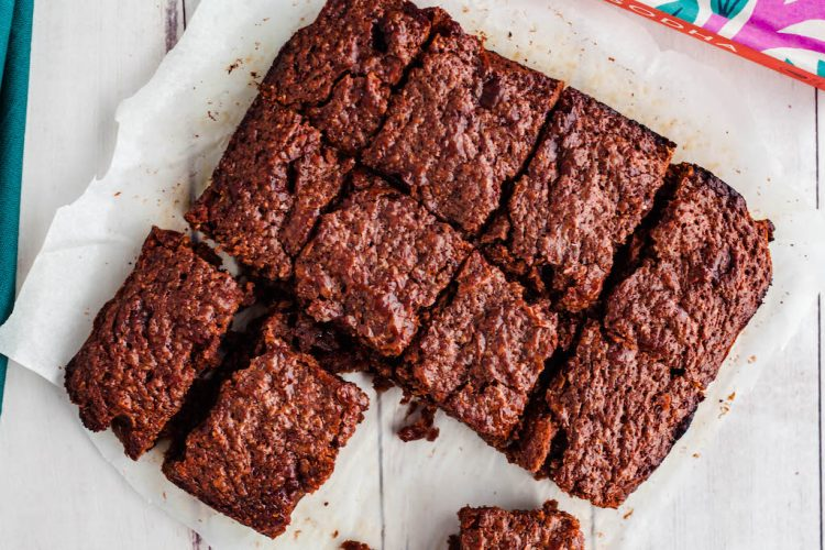salted miso brownies-4