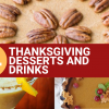 Vegan Thanksgiving Desserts and Drinks